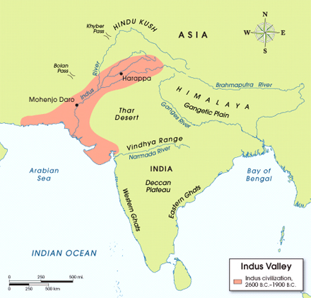 salient features of indus valley civilisation